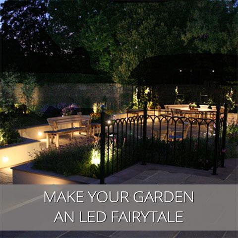 Make Your Garden An LED Fairytale
