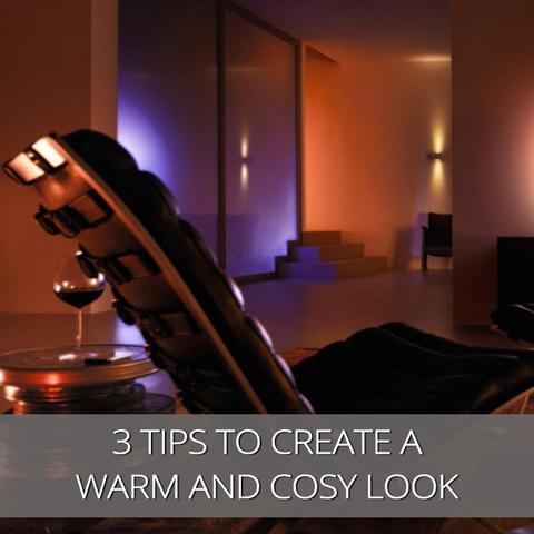 3 consejos de iluminación para crear una sensación cálida y acogedora en tu habitación