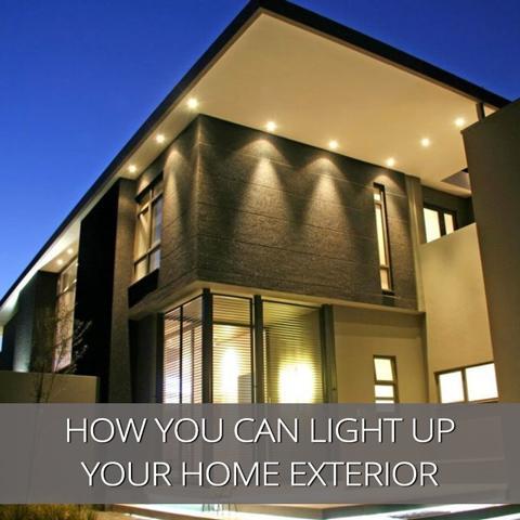 Cómo puedes iluminar el exterior de tu casa