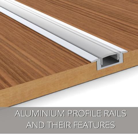 Nuestras últimas ofertas: rieles de perfil de aluminio y sus características
