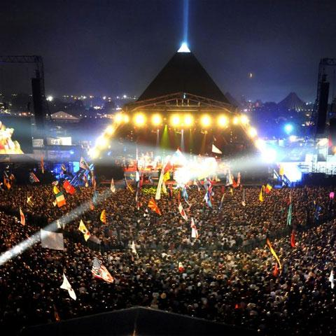 LEDs and Sustainable Ethos Light Up Glastonbury Once More