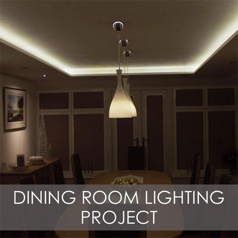 Dining Room Lighting Project