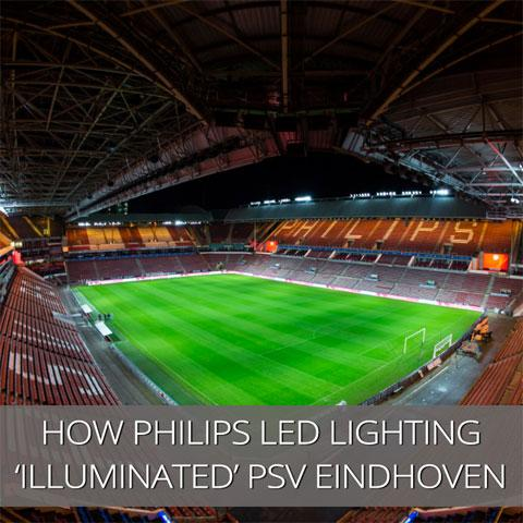 Football and LED Lighting is a 'Match' made in Heaven.
