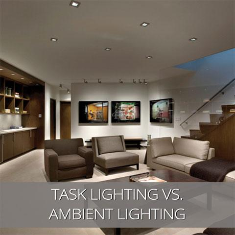 The Difference between Task and Ambient Lighting