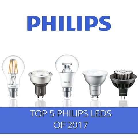 Las 5 mejores lámparas LED de Philips de 2017